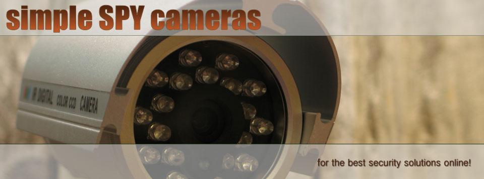 Simple Spy Cameras